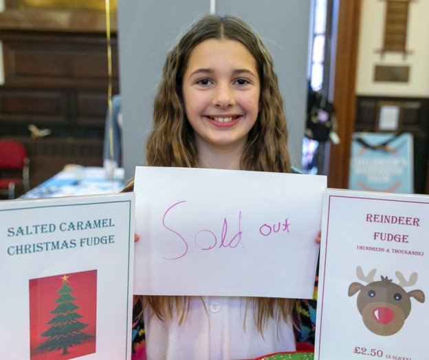 Morgan Christmas Fudge Sold Out November 2020 | Children's Business Fair UK