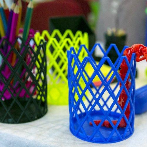 Happy Hens' 3D Printed Pencil Pots