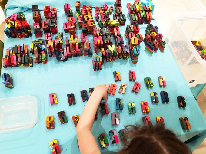 Stacking-letters-Crayonames-Children's Business Fair blog